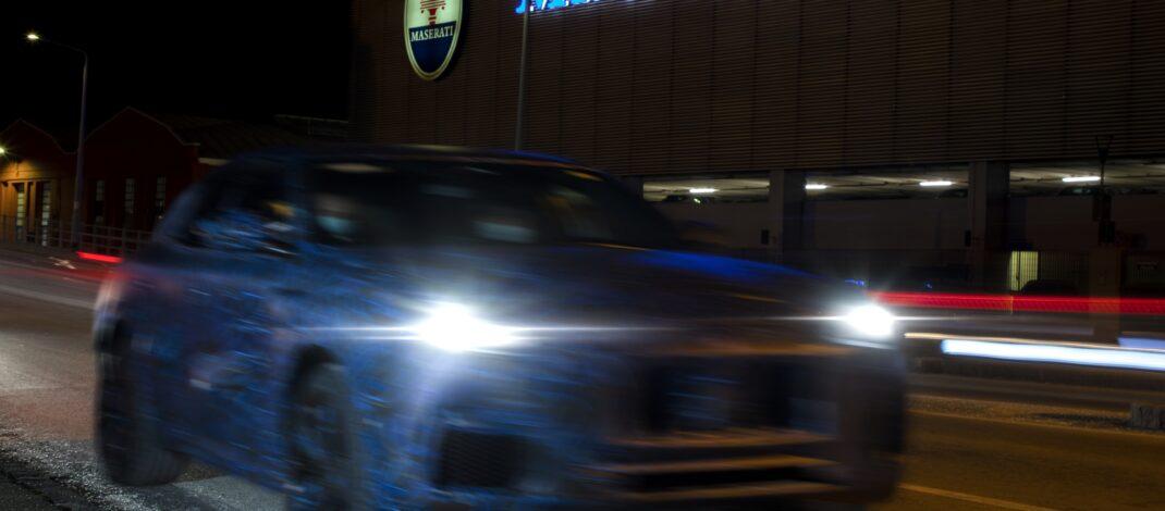 Maserati Grecale SUV Prototipi